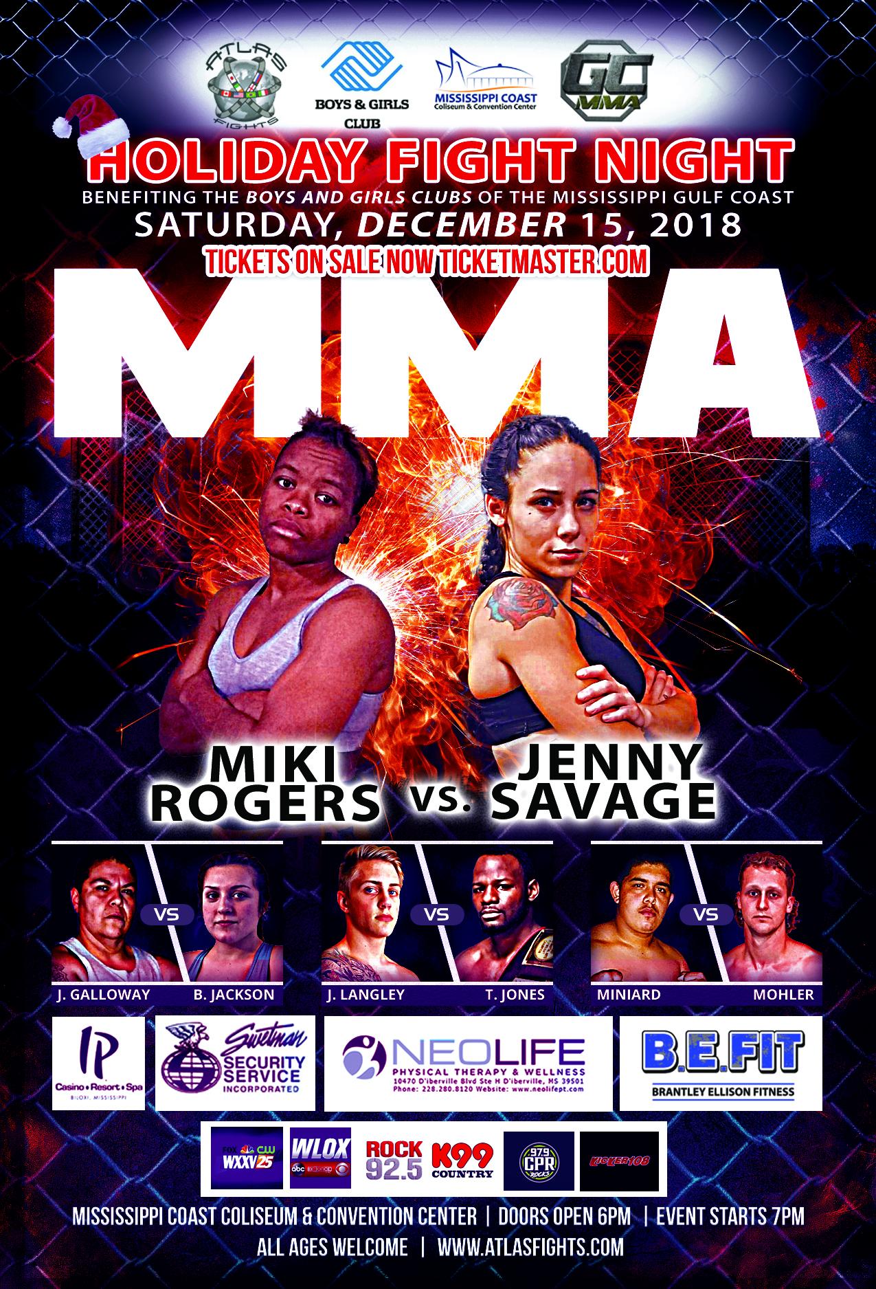 MMA -Holiday Fight Night-v6